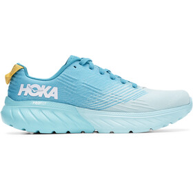 Hoka One One Mach 3 Schuhe Damen capri breeze/blue caracao